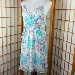 Yumi Kim Goddess fit and flare silk dress